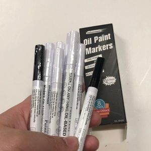 NWT Oil Paint Markers